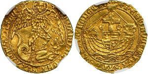 Angel Kingdom of England (927-1649,1660-1707) Gold Edward IV (1442-1483)