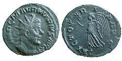 Antoninianus Gallic Empire (260-274) Billon Marcus Aurelius Marius (?-269)