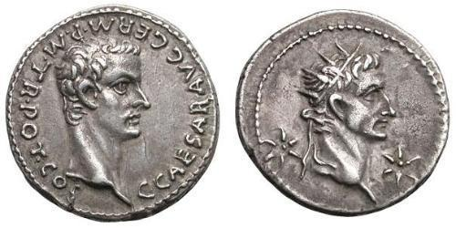 Denarius Römische Kaiserzeit (27BC-395) Silber Caligula (12-41)