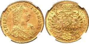 Ducat 外西凡尼亞公國 (鄂圖曼帝國) (1570 - 1711) / 神圣罗马帝国 (962 - 1806) 金 玛丽亚·特蕾西亚 (1717 - 1780)