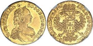 Ducat Principality of Transylvania (1571-1711) / Heiliges Römisches Reich (962-1806) Gold Maria Theresa of Austria (1717 - 1780)