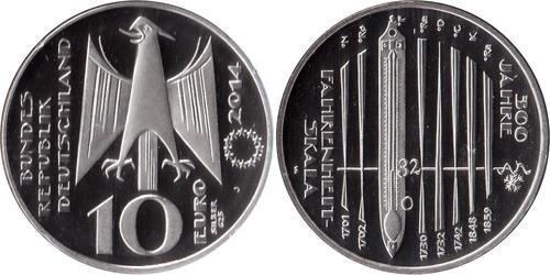 Euro Repubblica Federale di Germania (1990 - ) Argento