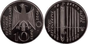 Euro Federal Republic of Germany (1990 - ) Silver