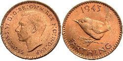 Farthing Vereinigtes Königreich (1922-) Bronze Georg VI (1895-1952)