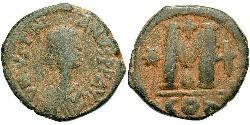 Follis Imperio bizantino (330-1453) Bronce Justiniano I (482-565)