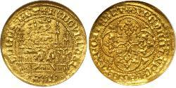 Franc County of Flanders (862-1795) Gold Louis II of Flanders (1330- 1384)