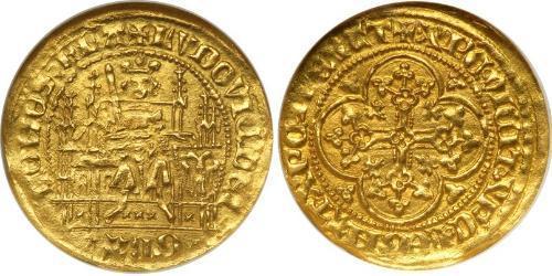 Franc County of Flanders (862-1795) Gold Louis II of Flanders (1330- 1384)