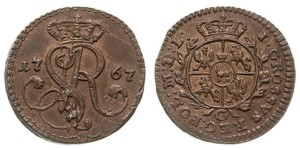 Grosh Polish-Lithuanian Commonwealth (1569-1795) 銅 斯坦尼斯瓦夫·奥古斯特