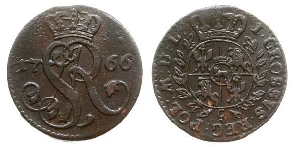 Grosh República de las Dos Naciones (1569-1795) Cobre Estanislao II Poniatowski (1732 - 1798)