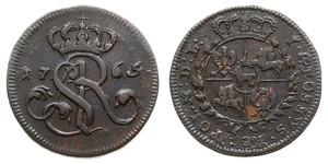 Grosh Confederazione Polacco-Lituana (1569-1795) Rame Stanislao II di Polonia (1732 - 1798)