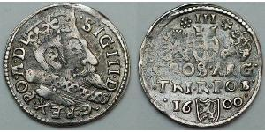 Grosh  Silver Sigismund III of Poland