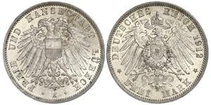 Grosh / 10 Pfennig Königreich Sachsen (1806 - 1918)  Friedrich August II. (Sachsen)