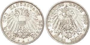 Grosh / 10 Pfennig Regno di Sassonia (1806 - 1918)  Federico Augusto II di Sassonia