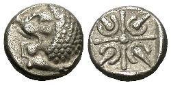 Obol Ancient Greece (1100BC-330) Silver