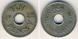 Penny Fidschi Kupfer/Nickel