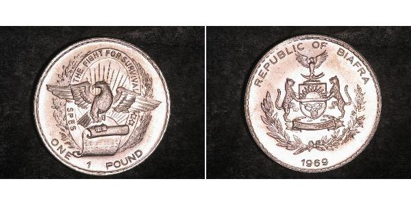 Pound Republic of Biafra (1967-1970) Silver