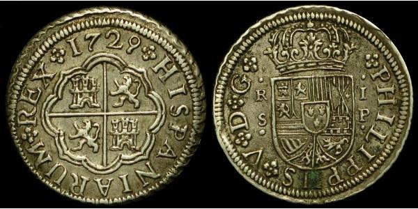 Real 西班牙帝國 銀 Philip V of Spain(1683-1746)