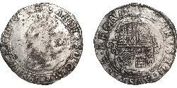 Shilling Kingdom of England (927-1649,1660-1707) Silver James I (1566-1625)