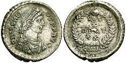 Siliqua Imperio bizantino (330-1453) Plata Arcadio (377-408)