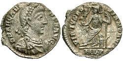 Siliqua Byzantinisches Reich (330-1453) Silber Arcadius (377-408)