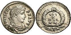 Siliqua Byzantinisches Reich (330-1453) Silber Valens (328-378)