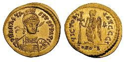 Solidus Byzantine Empire (330-1453) Gold Anastasius I (430-518)
