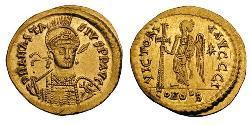 Solidus Byzantinisches Reich (330-1453) Gold Anastasios I (430-518)