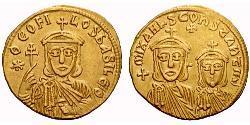 Solidus Byzantinisches Reich (330-1453) Gold Theophilus (813-842)