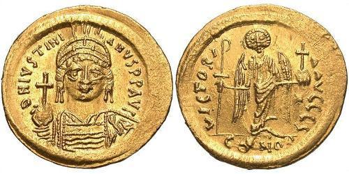Solidus Byzantinisches Reich (330-1453) Gold Justinian I (482-565)