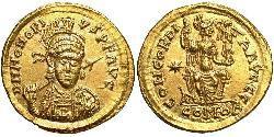 Solidus Weströmisches Reich (285-476) Gold Honorius (384-423)