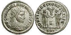 Tetradrachm Roman Empire (27BC-395)  Maximianus (250-310)