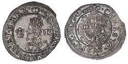 Threepence Königreich England (927-1649,1660-1707) Silber Karl I (1600-1649)