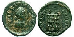 Tremissis Weströmisches Reich (285-476) Bronze Arcadius (377-408)