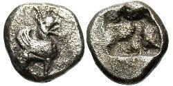 Triobol Ancient Greece (1100BC-330) Silver
