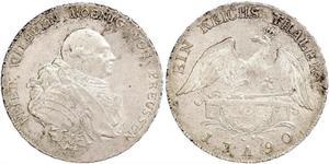 Королівство Пруссія (1701-1918) Срібло Фрідріх-Вільгельм II