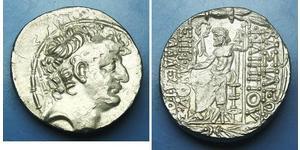 塞琉古帝国 (312 BC - 63 BC) 銀 Philip I Philadelphus (?-83BC)