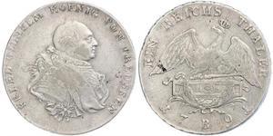 普魯士王國 (1701 - 1918) 銀 腓特烈·威廉二世