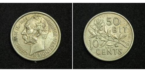 Danimarca Argento Cristiano IX di Danimarca (1818-1906)