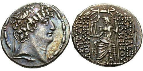 Seleucidi (312BC-63 BC) Argento Philip I Philadelphus (?-83BC)