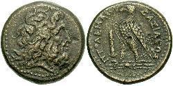Ptolemaic Kingdom (332BC-30BC) Bronzo Tolomeo II Filadelfo (309BC-246BC)