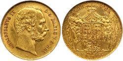 Denmark Gold Christian IX of Denmark (1818-1906)