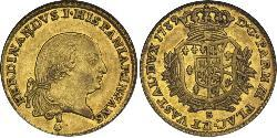 Italian city-states Gold Ferdinand I of the Two Sicilies (1751 - 1825)