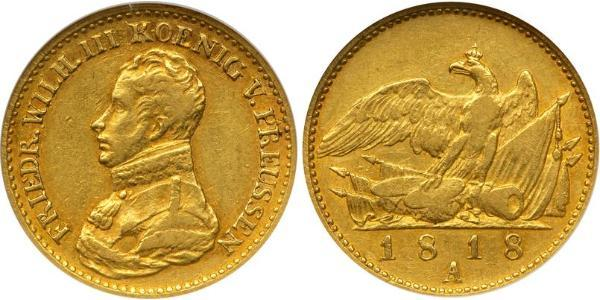 Kingdom of Prussia (1701-1918) Gold Frederick William III of Prussia (1770 -1840)