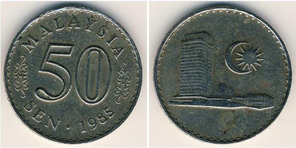 Malaysia (1957 - ) Kupfer/Nickel