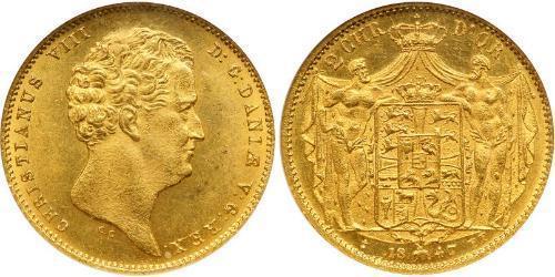 Dinamarca Oro Cristián VIII de Dinamarca (1786 - 1848)