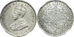 Straits Settlements (1826 - 1946) Plata Jorge V (1865-1936)