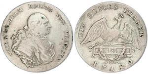 Königreich Preußen (1701-1918) Silber Friedrich Wilhelm II. (Preußen)