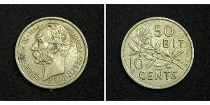 Denmark Silver Christian IX of Denmark (1818-1906)