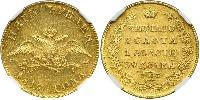 5 Rublo Imperio ruso (1720-1917) Oro Alejandro I (1777-1825)