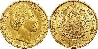 20 Mark Kingdom of Bavaria (1806 - 1918) Gold Ludwig I of Bavaria (1786 – 1868)